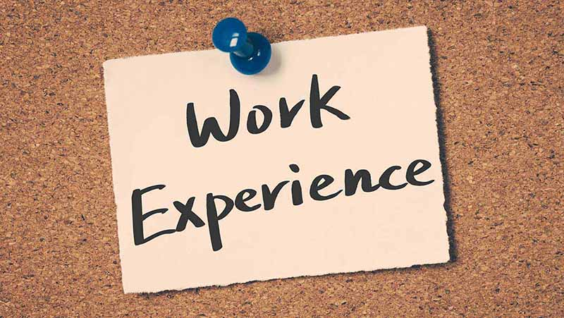 work experience in Canada